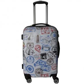 PC film Printing Customized picture ABS+PC Trolley suitcase set