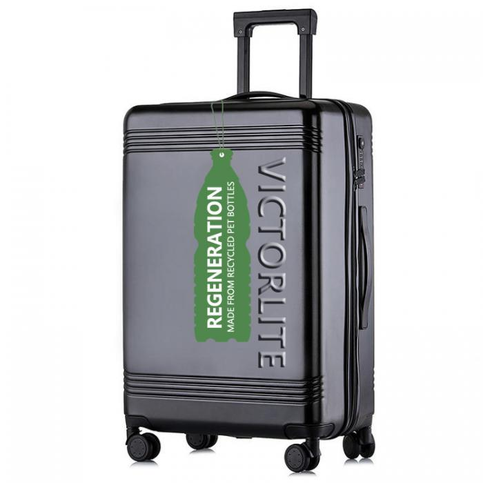ECO-FRIENDLY RPET LUGGAGE MADE FROM RECYCLED PET BOTTLES