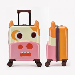 Little-Cow 3D Designed ABS+PC  Kids Suitcase
