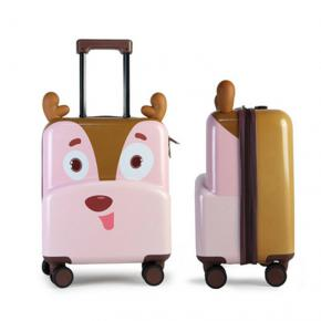 Cute-Deer 3D Designed ABS+PC  Kids Luggage