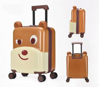 Little-Bear 3D Designed ABS+PC  Kids Luggage