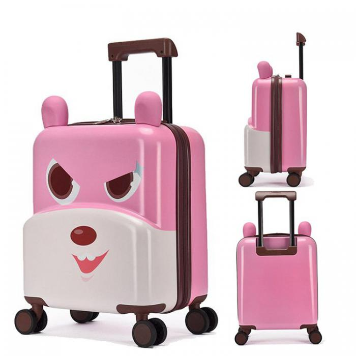 Cute-Rabbit 3D Designed ABS+PC  Kids Suitcase