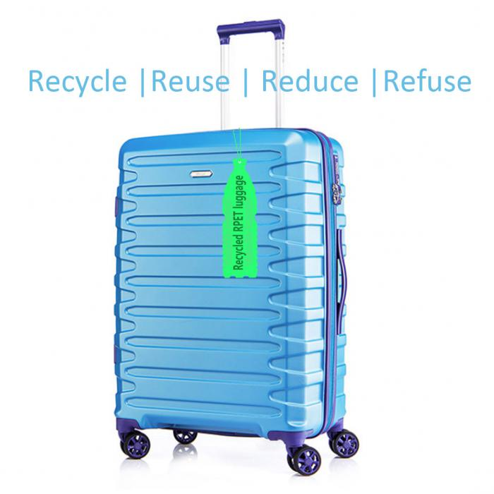 Source Todays Trending lifestyle Eco-Sustainable rPET suitcase