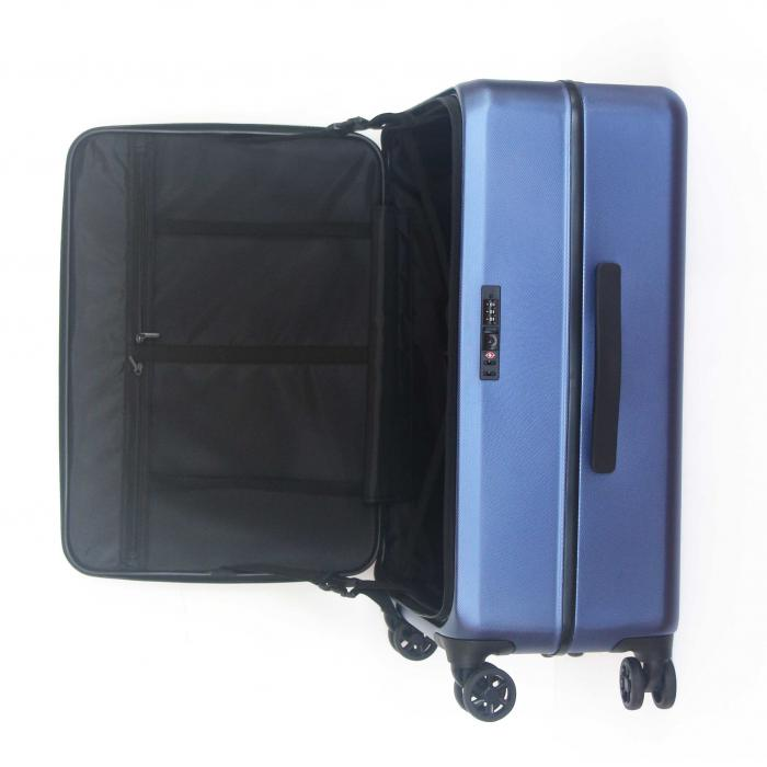 Front Door Openning Designed ECO-Friendly rPET Suitcase Sustainable rPET Suitcase set